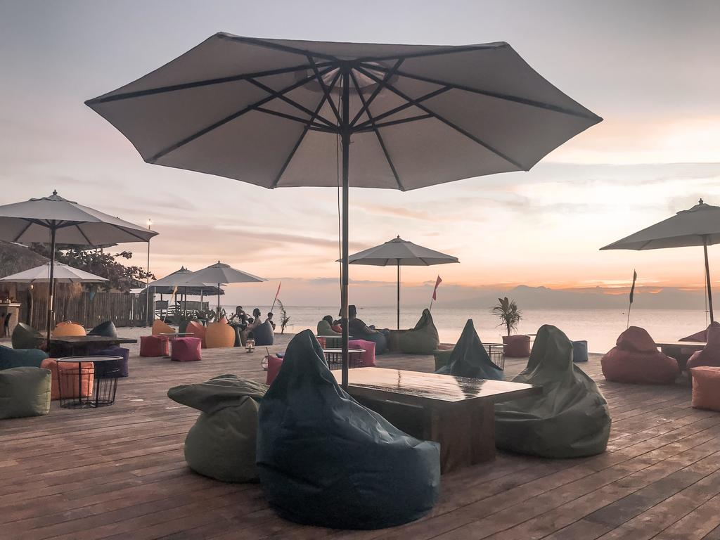 restobar by the beach at the best glamping site in siquijor